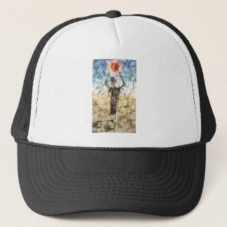 Alien Wall Painting Trucker Hat