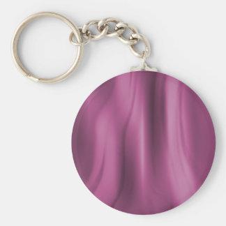 Alien Wall Pink Basic Round Button Keychain