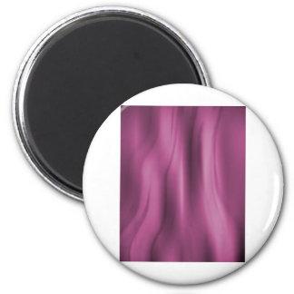 Alien Wall Pink Refrigerator Magnet