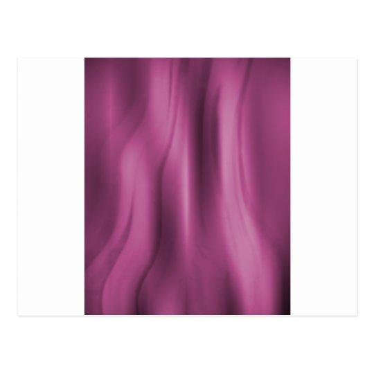 Alien Wall Pink Postcard