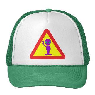 Alien Warning Mesh Hats