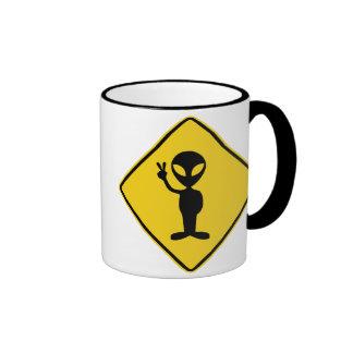 Alien Warning Mug