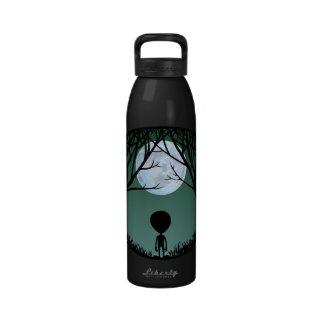 Alien Water Bottle E.T. Gift Cute Alien Keepsakes