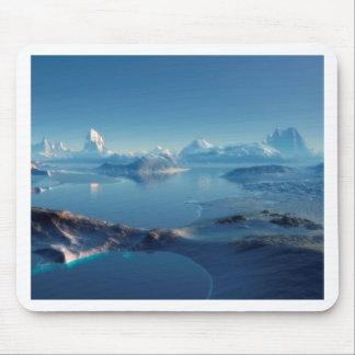 Alien World Antartica Mouse Pad