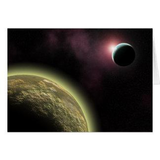alien world card