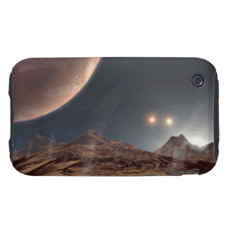 Alien World Tough iPhone 3 Cases