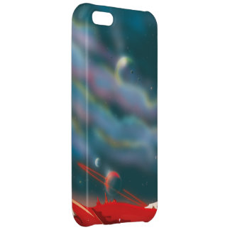 Alien world iPhone 5C case