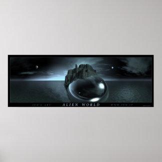 Alien World Poster