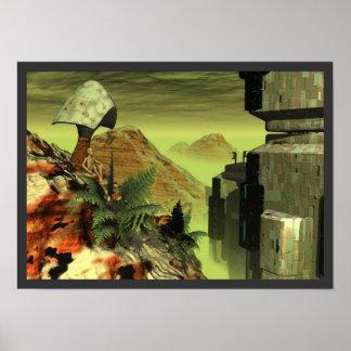 Alien world posters