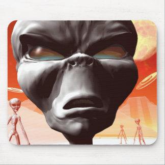 Alien World visited mousepad
