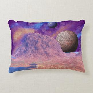Alien Worlds Accent Pillow