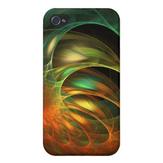 Alien Worm Cocoon Fractal Covers For iPhone 4