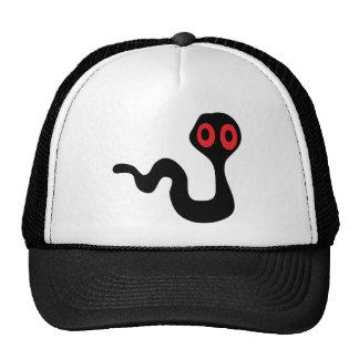 alien worm trucker hat