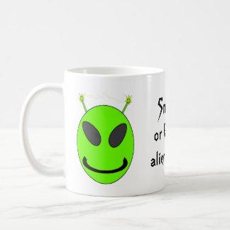 Alien Wrath Coffee Mug