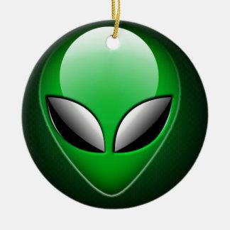 Alien_Wwad Adorno Navideño Redondo De Cerámica