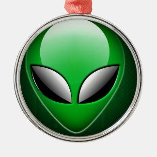 Alien_Wwad Adorno Navideño Redondo De Metal