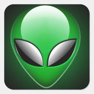 Alien_Wwad Pegatina Cuadrada