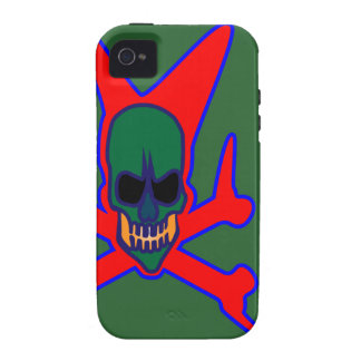 alien-zombie.gif iPhone 4 funda