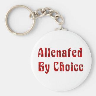 Alienated By Choice Key Chain