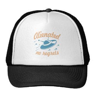 Alienated - no regrets trucker hat