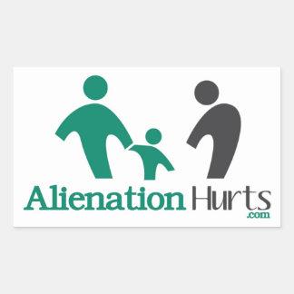 Alienation Hurts Stickers