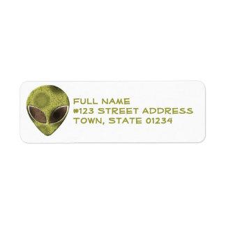 Alienation Return Address Label