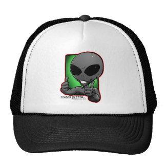 aliengray-smiley-thumbsup-gorra gorros bordados