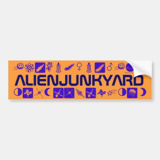 ALIENJUNKYARD BUMPER STICKER