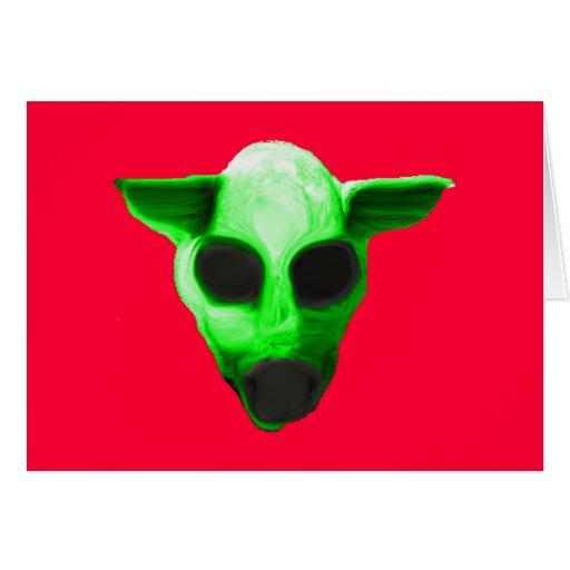 alienmonster tarjetón