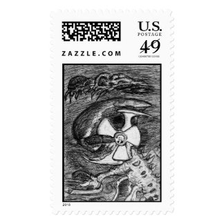 aliennuclearbiohazardinsect stamps