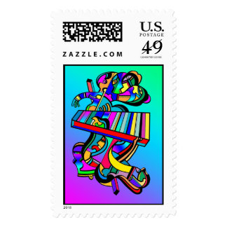 Aliens 01 stamps