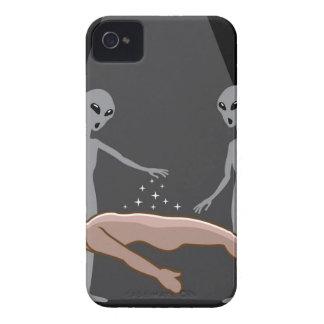 Aliens Abduct human iPhone 4 Case-Mate Case