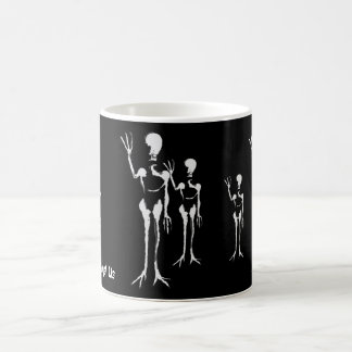 Aliens Amongst Us Coffee Mugs