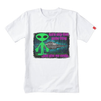 Aliens and UFOs Zazzle HEART T-Shirt