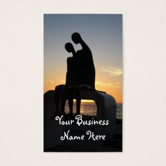 Aliens at Sunset Business Card