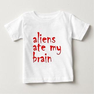 Aliens ate my brain t shirts