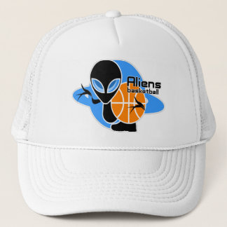 Aliens Basketball Cap