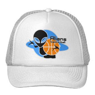 Aliens Basketball Cap Trucker Hat