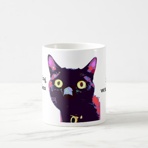 Aliens Black Cat Club Mug