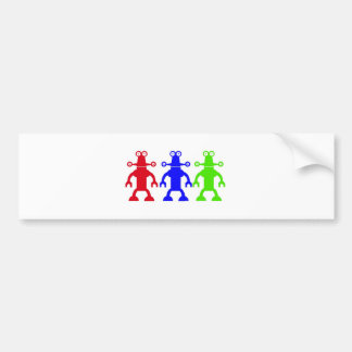 Aliens Bumper Sticker