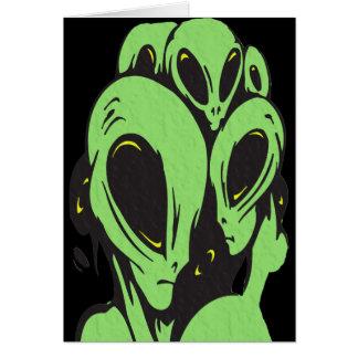 Aliens Card
