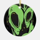 Aliens Christmas Ornaments
