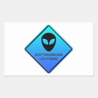 Aliens de 100 000 000 Lightyears next Etiqueta