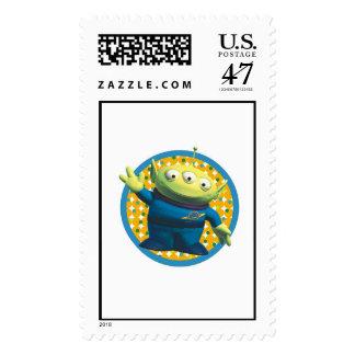Aliens Disney Postage Stamp
