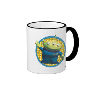 Aliens Disney Ringer Coffee Mug