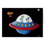 Aliens Earth or Bust! Card