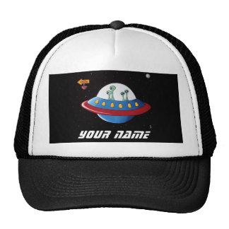 Aliens Earth or Bust!   Personalize Trucker Hat