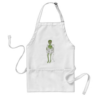 Aliens Exposed Adult Apron
