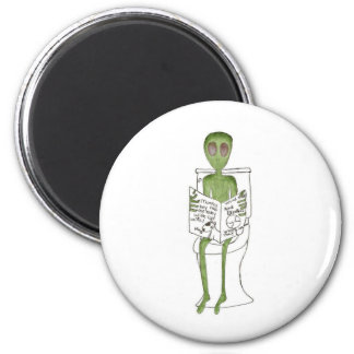 Aliens Exposed 2 Inch Round Magnet