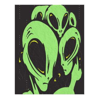 Aliens Flyer Design